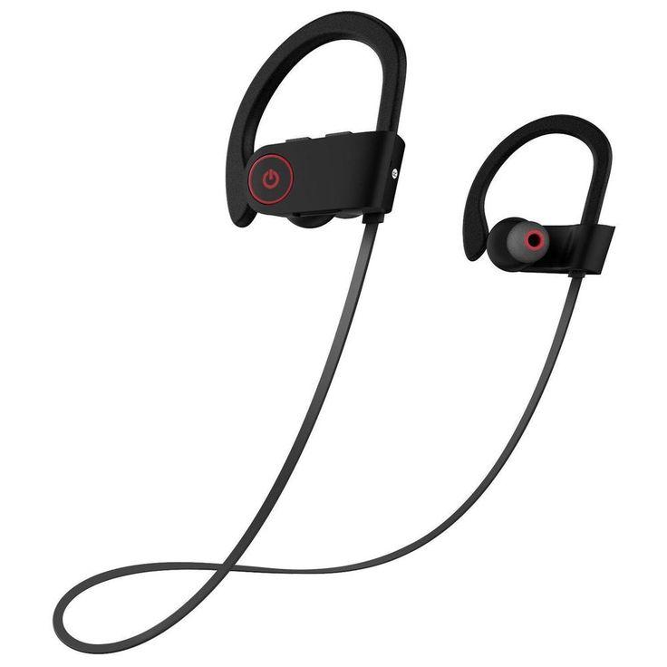 Écouteurs Stéréo Bluetooth Sans Fil Bluetooth 4.1 De Sports Polarisés Par Bluetooth,6-OneSize