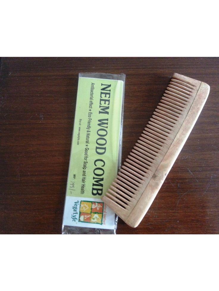 Neem Wood Comb Male Buy here: http://www.vegalyfe.com/neem-wood-comb-male.html