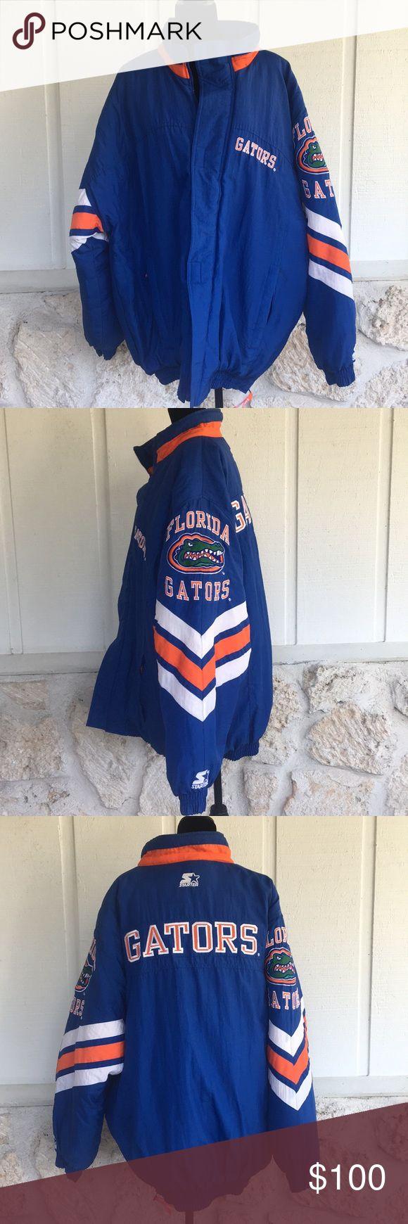 🆕Starter Florida Gator men's coat ✅I ship same or next day ✅Bundle for discount STARTER Jackets & Coats Puffers