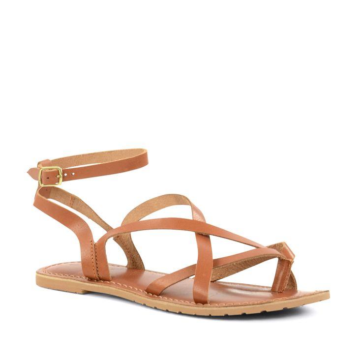 Sandalen met enkelbandje