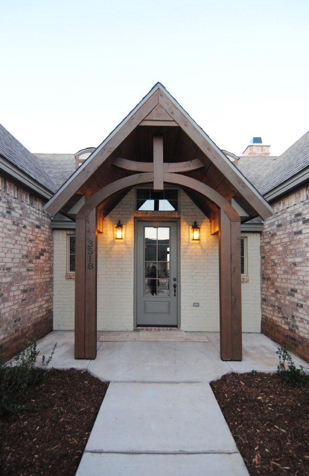 Exterior Design By Ventura Homes Wood Posts Wood Beams