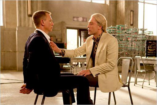 Skyfall w/ Daniel Craig and Javier Bardem