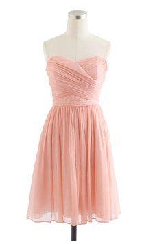 J.Crew Misty Rose Arabelle Dress $120