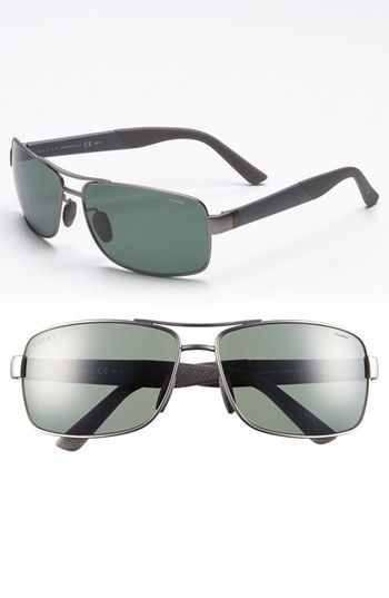 Gucci '2234/S' Polarized Sunglasses available at #Nordstrom