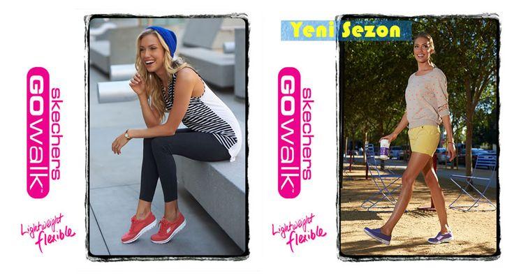 Birbirinden Güzel Skechers Ayakkabılar Göz Kamaştırıcı Renkleri ile Sporfashion'da!