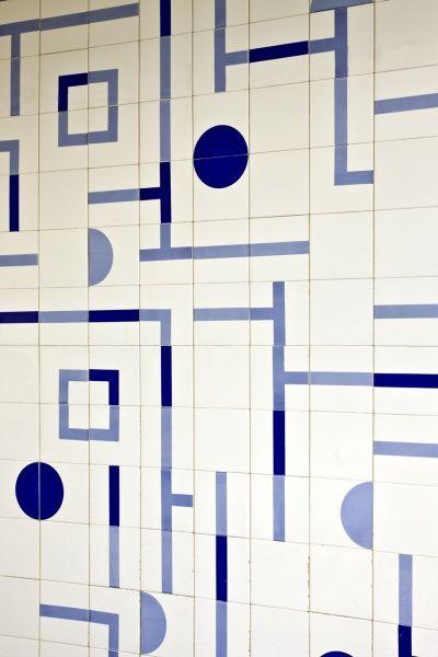 Oscar Niemeyer  pattern tiles