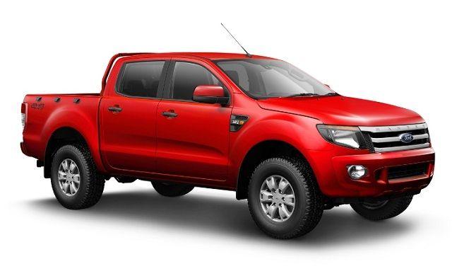All-New Ford Ranger 2014 Red