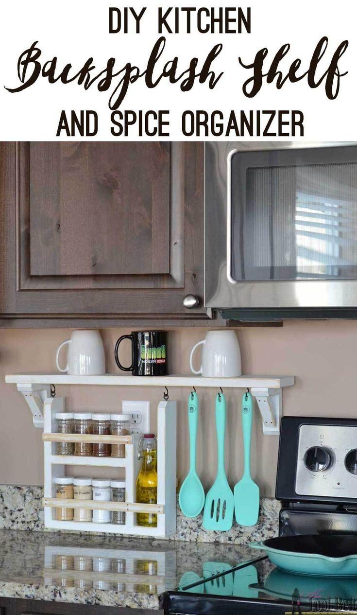 Best 25 utensil organizer ideas on pinterest kitchen for Country kitchen storage ideas