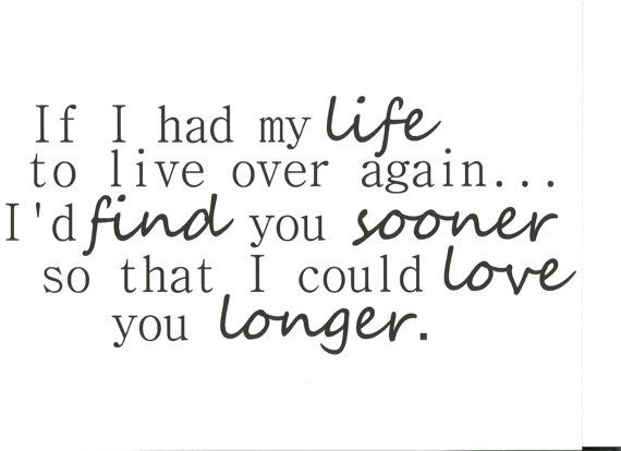 If I had my life to live over again I'd find you by Skybugvinyl, $17.00