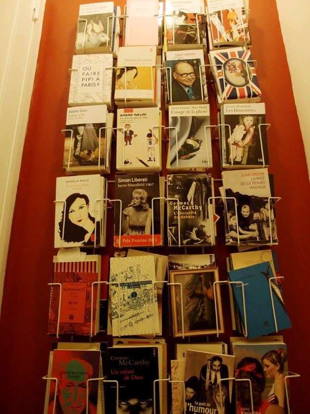 Une petite sélection, dans les toilettes... version août 2013