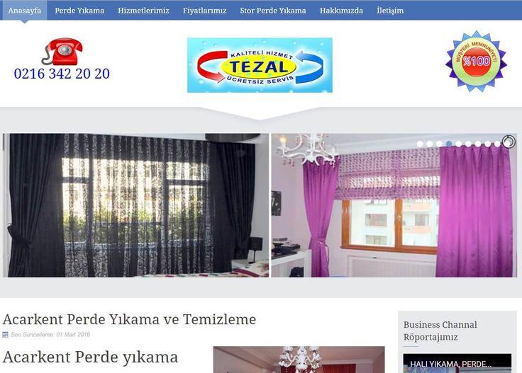 ACARKENT PERDE TEMİZLEME  Web sitelerimizden biri daha: www.acarkentperdetemizleme.com  Firma adı üstünde İstanbul'un Acarkent semtinde perde temizleme hizmeti vermektedir. Bildiğiniz gibi güvenilir bir firma bulmak her zaman sorun olmaktadır. Önce çevrenize sorarsınız varsa perde yıkatıp memnun olan komşularınız size tavsiye eder, yoksa zaten bir çok kişi memnun kalmadığı için tavsiye etmek istemez.