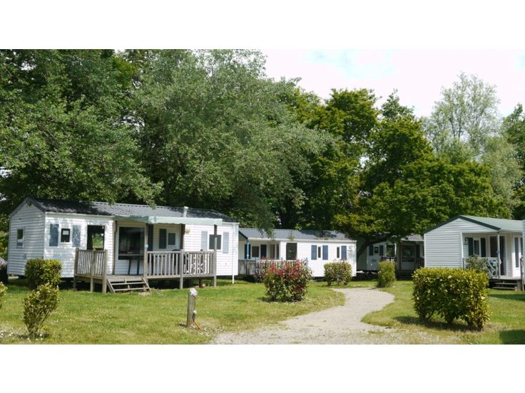 Camping Domaine de Mesqueau // Plougasnou // Finistere Bretagne // Mobil-home