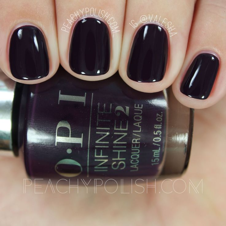 OPI I'll Have A Manhattan | Infinite Shine Breakfast At Tiffany's Collection | Peachy Polish
