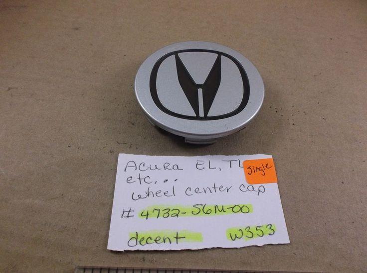 2006-2011 Acura EL TL RSX CL TSX MDX RDX Wheel Center Cap 4732-S6M-00 hub W353 #ACURA