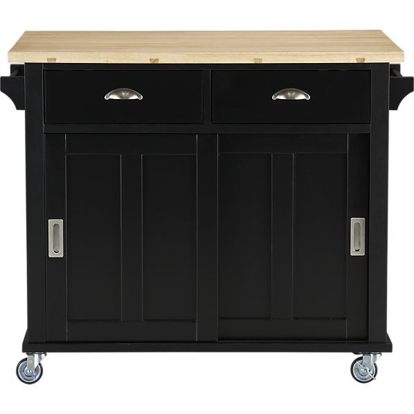 $499.00 Belmont Black Kitchen Island In Dining, Kitchen