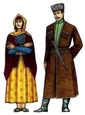 Костюм азербайджанца фото