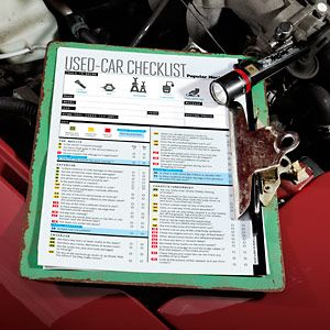 How to Buy a Used Car Without Getting Burned - PM's 101-Point Checklist - Popular Mechanics