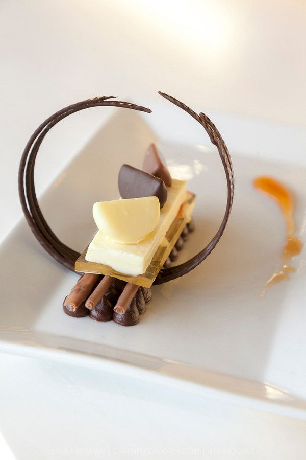 Plated Dessert: Sean Tremblay. Cacao-Barry Callebaut Canadian Intercollegiate Chocolate Competition April 21 - 22, 2012.