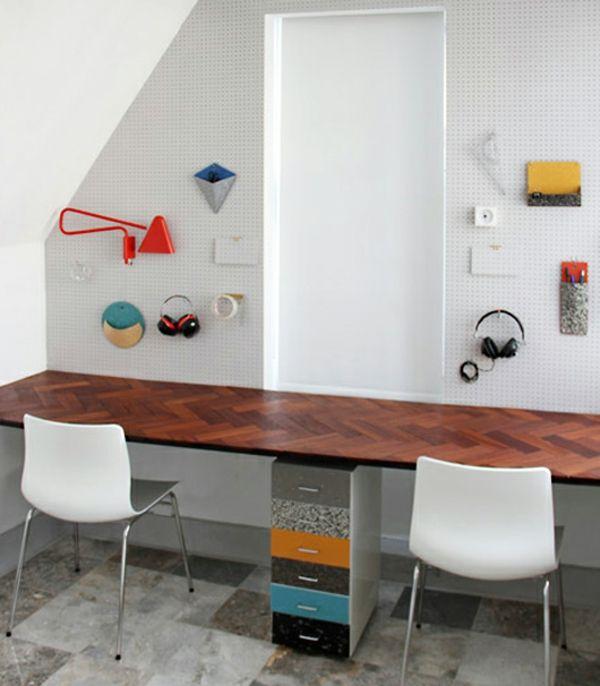 ... Pinterest  Bureau partagé, Classeur de bureau et Bureau à domicile