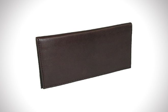 Basic Leather Checkbook Cover Best And Nice Men Checkbook Wallets
