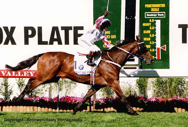 Might and Power wining the Cox Plate 1998