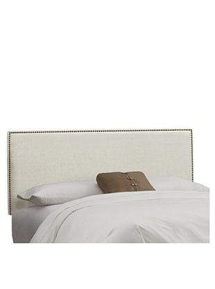 38% OFF Skyline Nail Button Headboard (Talc)