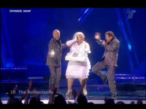Eurovision 2009 Netherlands (LIVE in Moscow) ( The Netherlands ) The TOP...