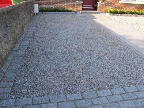 Granite Setts border.