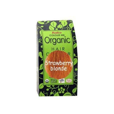 Radico STRAWBERRY BLOND - 100% ekologisk hårfärg