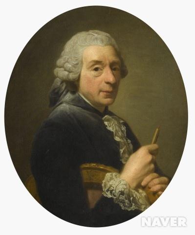1760년의 화가 프랑수아 부셰 (1704-1770)