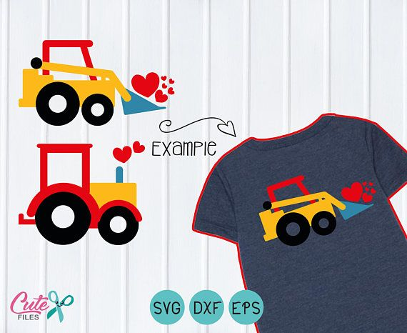 Boy Valentine Truck Svg Happy Valentines Day Svg Cutting Valentine