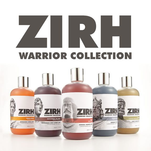 Refreshing shower gels to get your day started. Warriors only. | ZIRH