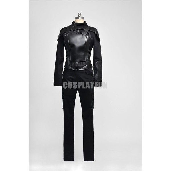 The Hunger Games 3 Mockingjay Katniss Everdeen Cosplay Costume Full... ❤ liked on Polyvore featuring costumes, cosplay costumes, cosplay halloween costumes and role play costumes