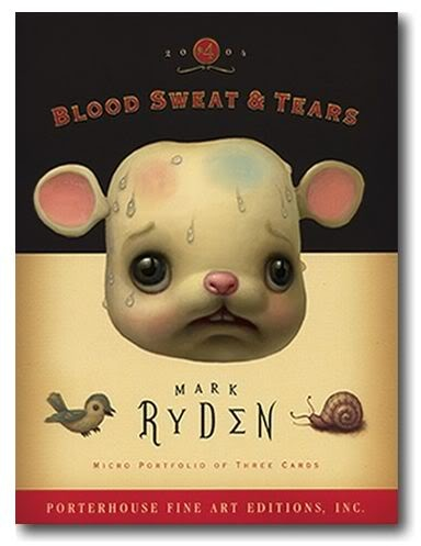 Mark Ryden Posters | Mark Ryden's Blood Sweat and Tears microportfolio: