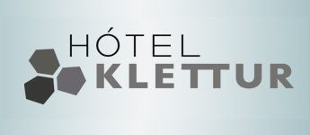 Hotel Klettur - The hotel's name Hotel Klettur is derived from the rock that is on the first floor of the hotel and bursts out through the wall. The hotel's look and interior gets its inspiration from Icelandic nature, especially the Icelandic rocks.