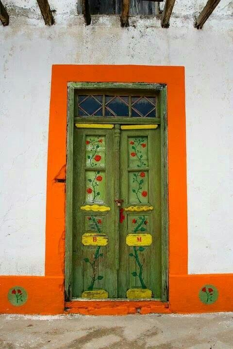 Door ln Karpathos island, Greece   ..rh