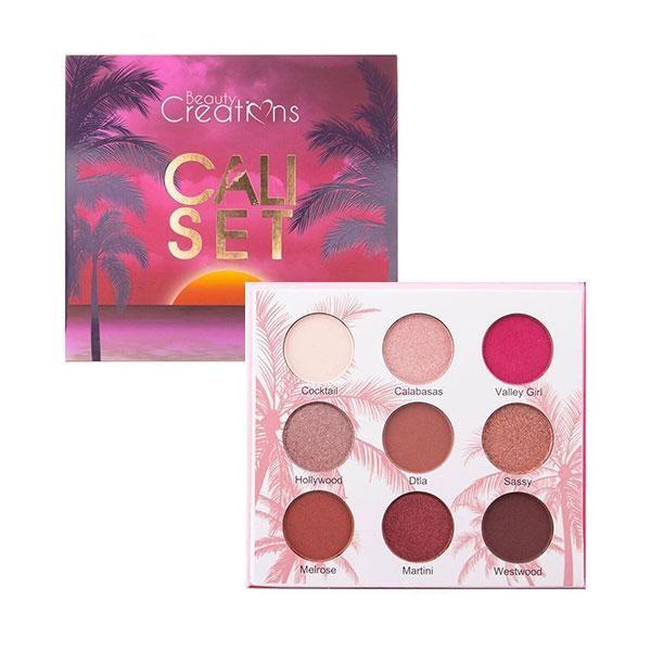Beauty Creation Cali Set Eyeshadow Palette Con Imagenes