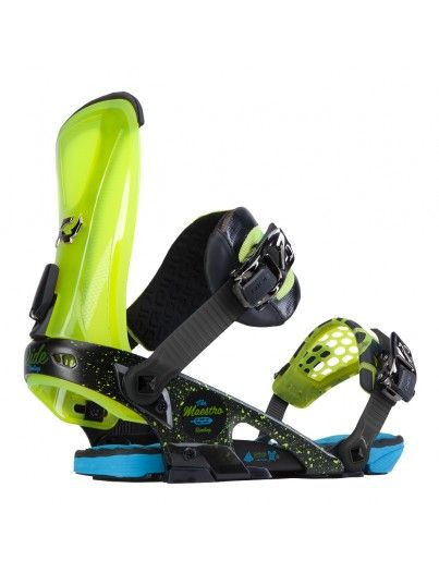 Maestro snow bindings Ride yellow