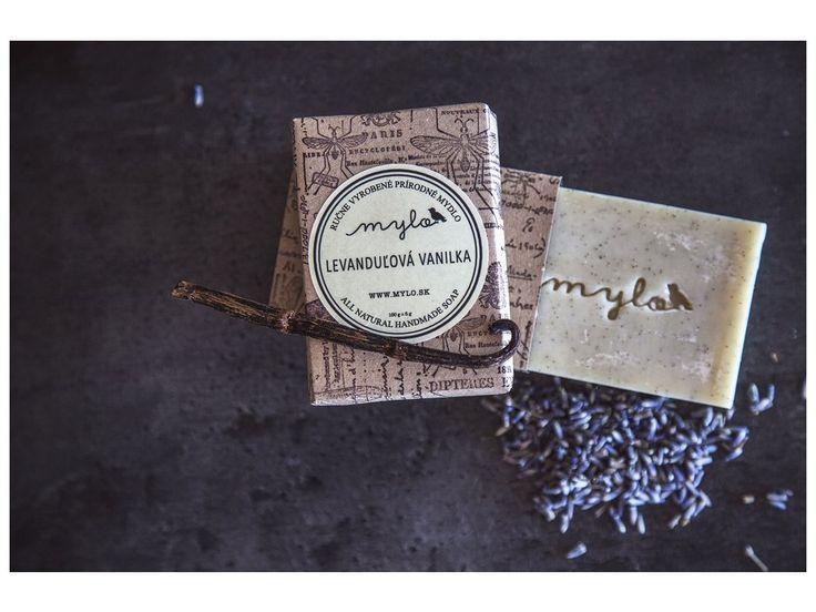 Mylo jemné mýdlo s vanilkou a levandulí