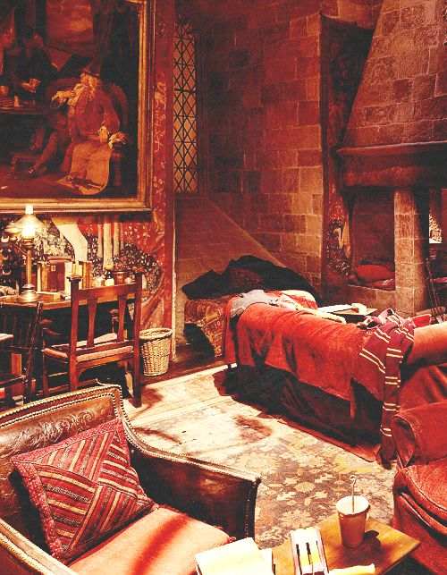 Gryffindor common room. I've always wanted to hang out there