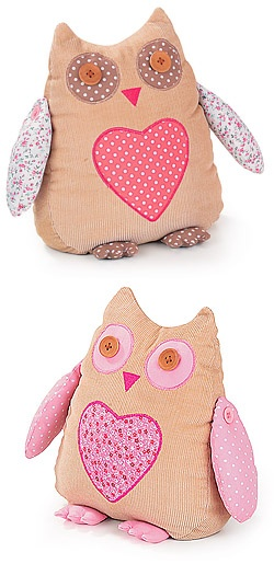 owl doorstop. Leah says owls are really hot right now