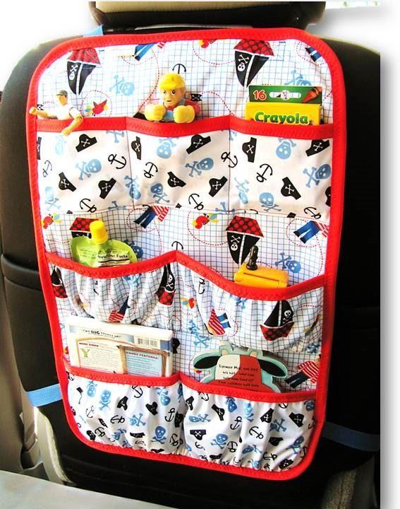 Car Organizer Back Seat Car Organizer Car by ChristinesKnitandSew, $30.00