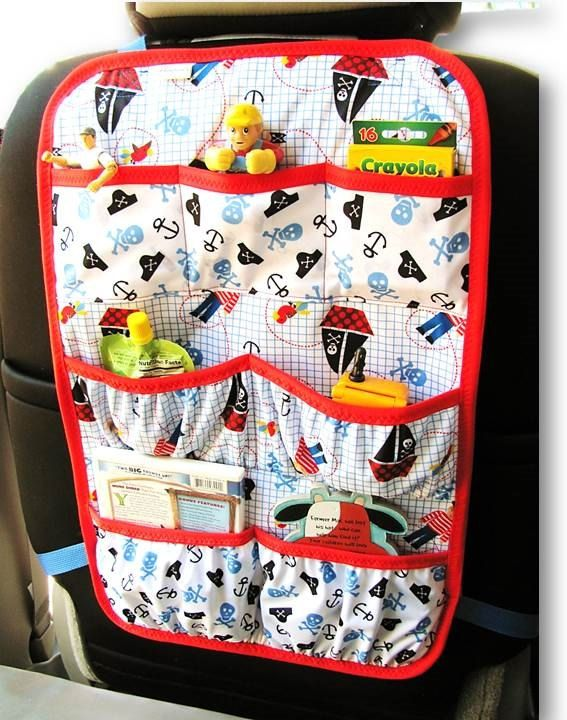 Car Organizer Back Seat Car Organizer Car by ChristinesKnitandSew, $30.00