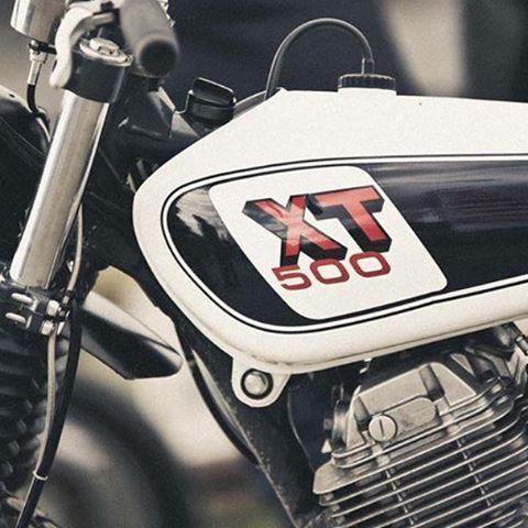 BF #33 - YAMAHA XT600E #bfmotorcycles #yamaha # 600xte # 500XT #tracker # caferacerfestival2016