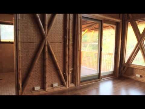 Bamboo Living: Amazing Green Home Made with Bamboo! - YouTube
