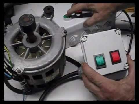 Cómo conectar un motor de lavadora con interruptores.(1) - YouTube