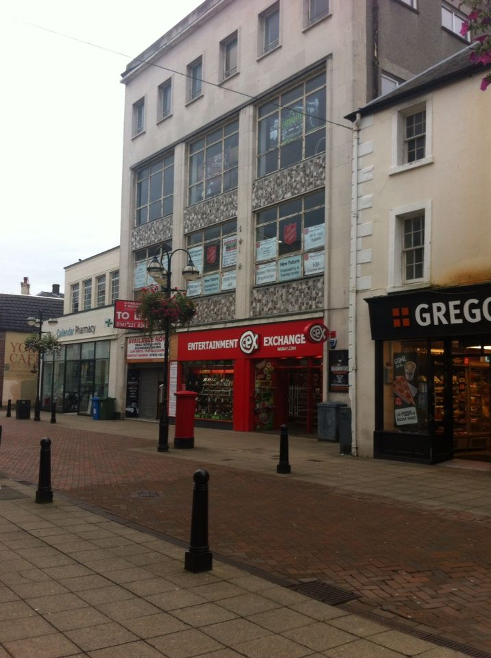 Falkirk 2015 high street east the old co op furniture for Furniture and more store