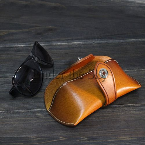 leather glasses case pattern - Google Search