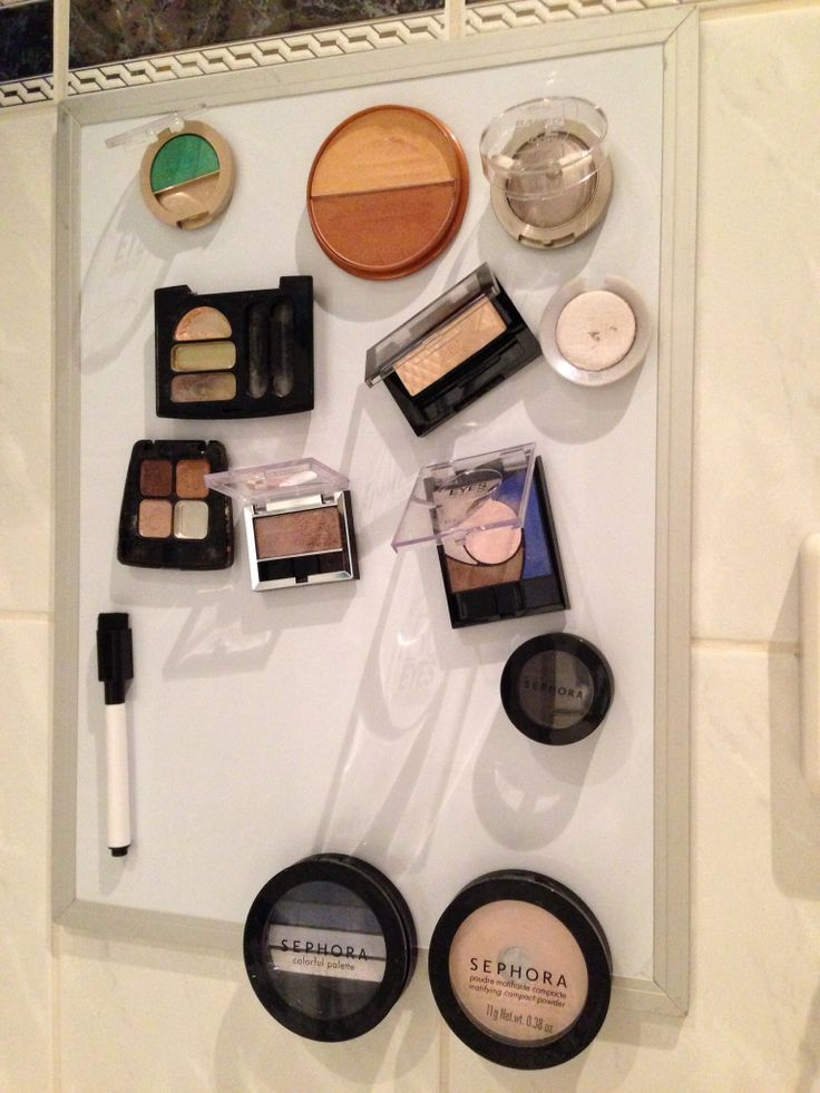 Make up op magneetbord