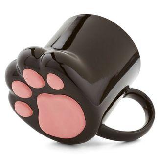cute paw shaped mug http://rstyle.me/n/iid7ar9te
